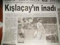 Kışlaçay Spor un Gazete Manşetleri İle Gururlandık.