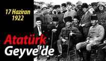Mustafa Kemal Paşa Karaçam'da Kocaeli Grup Kumandanlığı Karargahında. (17.06.1922)