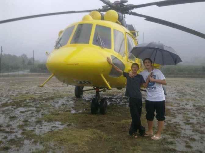 Bursa Orman İşletme Yangın Söndürme Helikopteri Köyümüze İniş Yptı