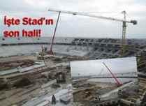 Yeni Sakarya Stadı yükseliyor. Son durum!