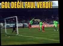 İşte Sakaryaspor'un sayılmayan o golü!