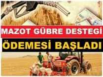 Tarımsal destek Ödemeleri Başladı.