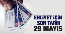 Sürücü adayları 29 Mayıs son gün