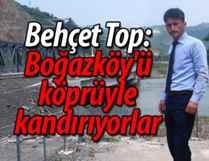"""""""Boğazköy halkını kandırıyorlar"""""""