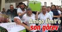 Amigo Ümit Hoş son yolculuğuna uğurlandı