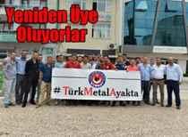 Türk Traktör'de işbaşı! Sendikaya yeniden üye oldular