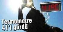 Kışlaçay da 41C  Sıcaklık Bunalttı  YENİHABER