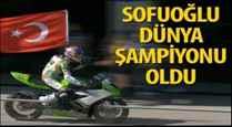 Kenan Sofuoğlu 4. kez 'Dünya Şampiyonu' oldu