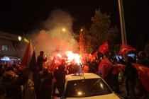 AK Parti'nin seçim zaferini kutladılar…