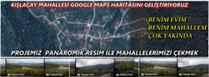 Zafer Omay : Kışlaçay Mahallesi Google Maps Haritasını Geliştiriyoruz.