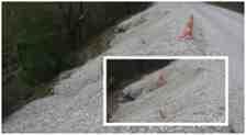 Kışlaçay'da İstinat Çalışması Yağmur'a Dayanamadı