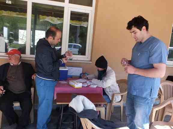 Boğazköy de Köpek Kuduz Aşıları Tamam
