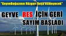 GEYVE'YE RÜZGÂR SANTRALİ KURULUYOR
