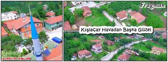 Kışlaçay Köyü Havadan Bir Başka Güzel!!!