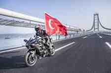Kenan Sofuoğlu, yeni köprüde rekoru kırdı…………