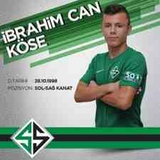İbrahim Can Köse,Sakarya Spor A,Takıma İmza Atacak!