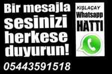 Bir mesajla sizi herkes duysun!Whatsapp Haber Hattı