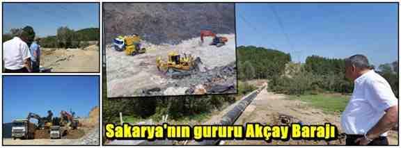 Sakarya'nın gururu Akçay Barajı!!