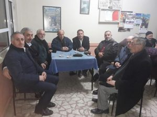 Ak Parti Meclis Üyelerinden Kışlaçay'a Taziye Ziyareti!