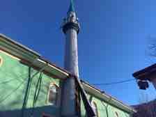 Kışlaçay Mahallesin'de Çıkan Lodos Minare Saç'ını Yerinden Söktü!