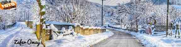 Kışlaçay Mahallesi Kar Manzarası Hdr Görüntüleri!!!