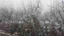 Kışlaçay'da Kar Gitti Soğuğu Kaldı!Sayaçlara Dikkat