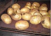 Kışlaçay'da Sobanın Kuzinesinde Közlenen Patates!!