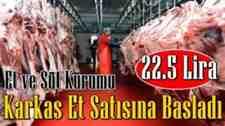 Et fiyatları ile ilgili flaş açıklama geldi!!