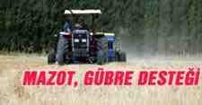 Kışlaçay'lı Çiftçilerimize Mazot-Gübre Deste Ödemeleri Askıya Asıldı!