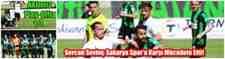 Sercan Sevinç Sakarya Spor'a Karşı Mücadele Etti!1-1