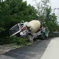 Kışlaçay'da Bir Anlık Dalgınlık Kaza Getirdi!!