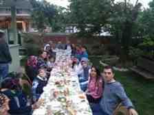 Gökdemir Ailesi Kışlaçay Mahallesin'de İftar Yemeğinde Buluştu…
