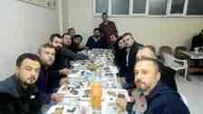 Cemalettin Akın Kışlaçay Tesislerinde İş Arkadaşlarına İftar Verdi!!