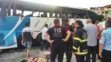 Gürcü Öğrenci Dans Ekibi Giresun'da Kaza Yaptı!!