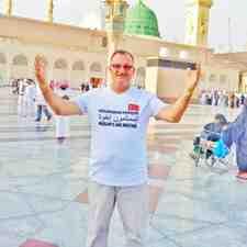 Kışlaçay'lı İsmail Alişan Eşiyle Kutsal Topraklarda!!