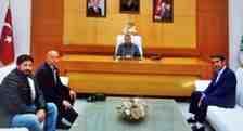 Boğazköy Mahallesi Muhtarı Köprü Talebi İçin Belediye Başkanı İle Görüştü!