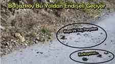 Boğazköy Mahallesi Bu Yoldan Tedirgin Geçiyor!!