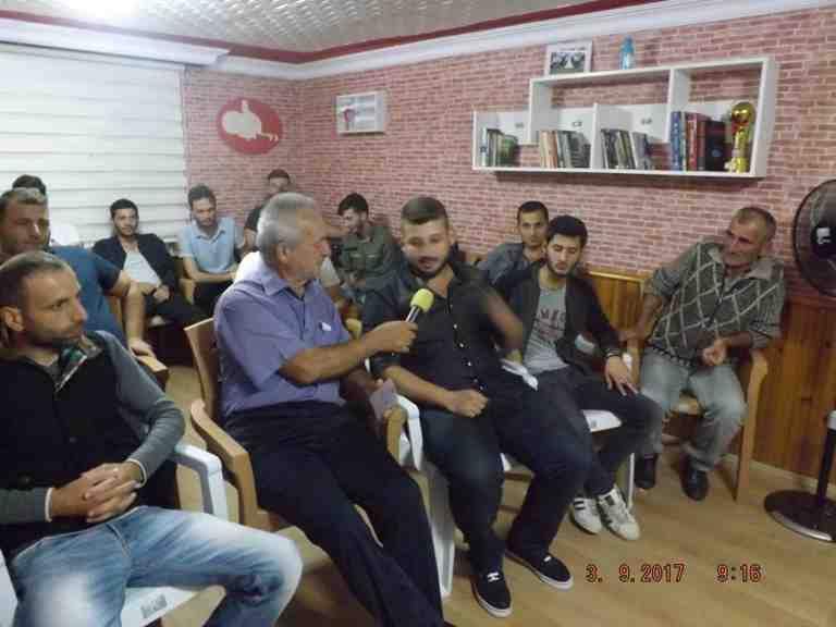 Sakarya Tv Kışlaçay Gençlik Odasını Ziyaret Etti!!Röportaj Gerçekleşti