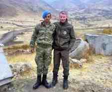 Kışlaçay'lı Askerlerimiz Hakkari'de Buluştu!!!