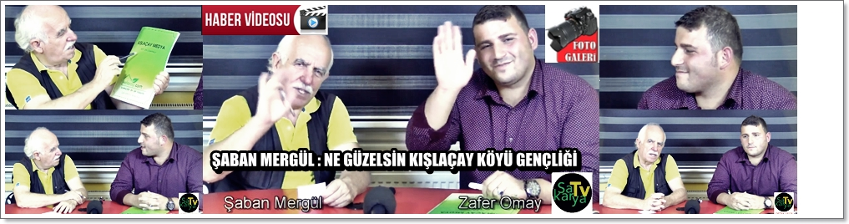 Zafer Omay Sakaryatv.net'e Konuk Oldu!!!Ne Güzel Kışlaçay Gençliği!!