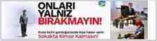 Büyükşehir Belediyesi 'Sokakta Kimse Kalmasın' sloganı ile  yardım eli uzatıyor.