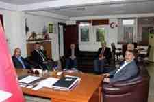 İl Emniyet Müdürü Kaya, Arifiye Belediyesini ziyaret etti!