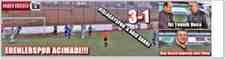 Süper Amatör 11.Hafta Sonucu :Erenlerspor 3-1 Kışlaçayspor
