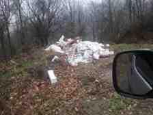 Boğazköy Muhtarı Çevre Kirliliğinin Görüntüsünü Paylaştı!!