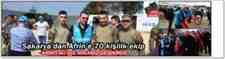 Sakarya'dan Afrin'e 70 Kişilik Ekip Tören Düzenlendi!