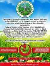 BBP Arifiye İlçe Teşkilatı 1.Olağan Kongresi Kışlaçay Köyüne Hayırlar Getirsin!