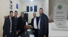 Kışlaçay Sevdası Derneğin'den Muhtar Şaban Sevinç'e Anlamlı Plaket!!