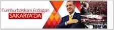 CUMHURBAŞKANI ERDOĞAN SAKARYA'YA GELDİ!!