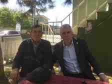 Sakarya Muhtarlar Derneği Başkanı Erdal Erdem Kışlaçay'ı Ziyaret Etti!!