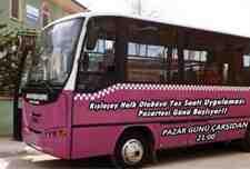 Kışlaçay Halk Otobüsü Yaz Saati Uygulaması Pazartesi Günü Başlıyor!!